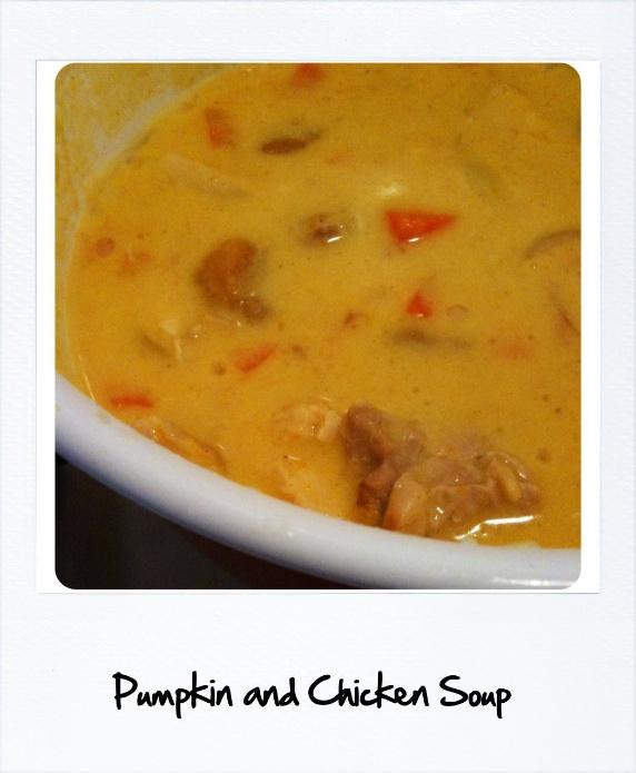 秋野菜たっぷりスープ