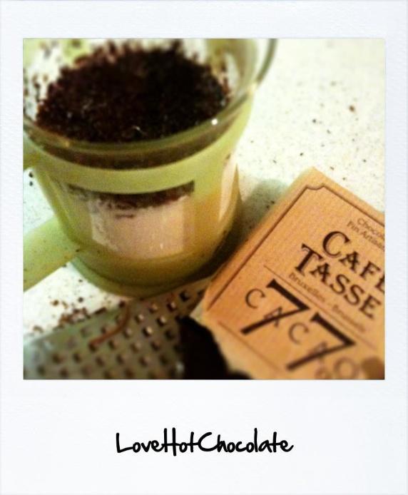 hot chocolate ホットチョコレート
