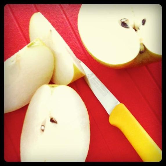果物は至れリ尽くせりのパーフェクトフード 梨 カット