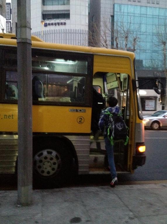 韓国 ソウル バス
