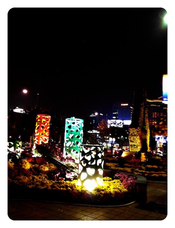 韓国 ソウル 夜景