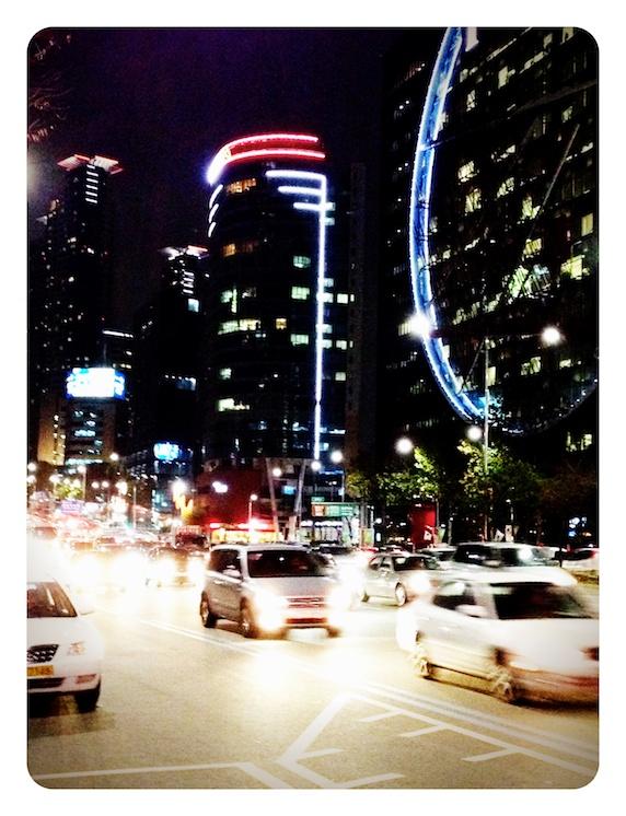 韓国ソウル 道路