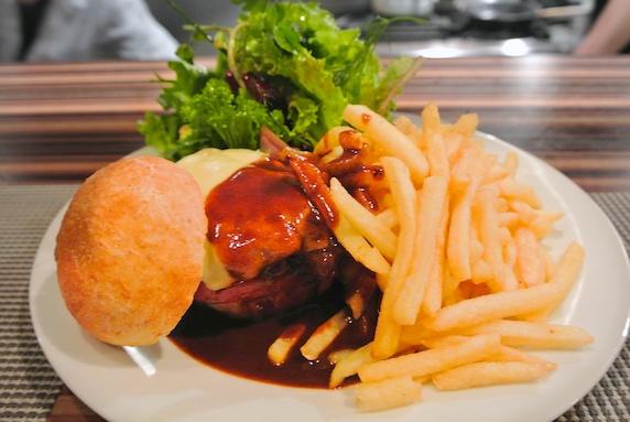 ハンバーガー 美味しいレストラン~スモールワンダーランド@東銀座