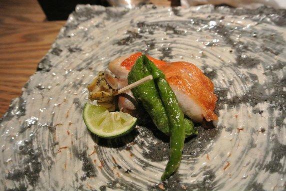 鈴なり 荒木町 焼き魚