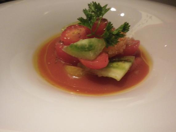 トマト冷製