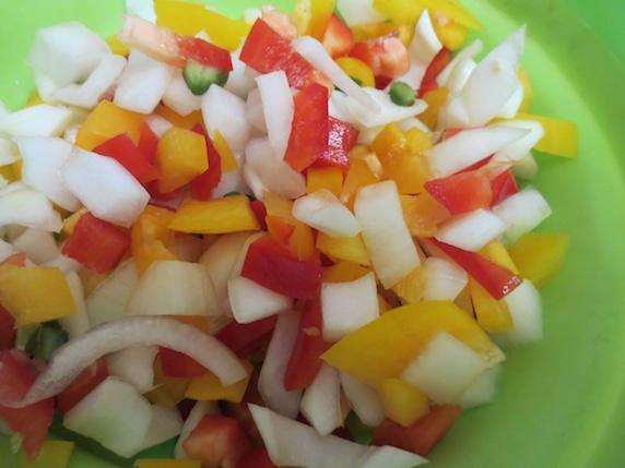 みじんぎり 野菜