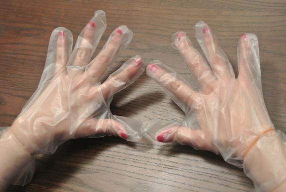 ハンドクリーム&手袋