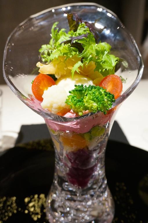 野菜パフェ