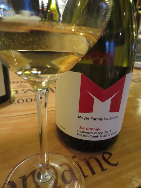 2011 Meyer Family Vineyards McLean Creek