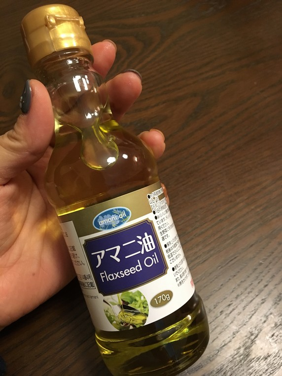 image_アマニ油